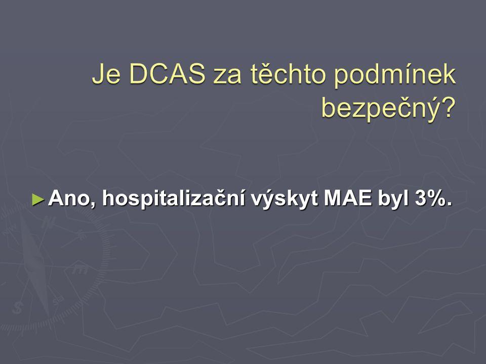Je DCAS za těchto podmínek bezpečný