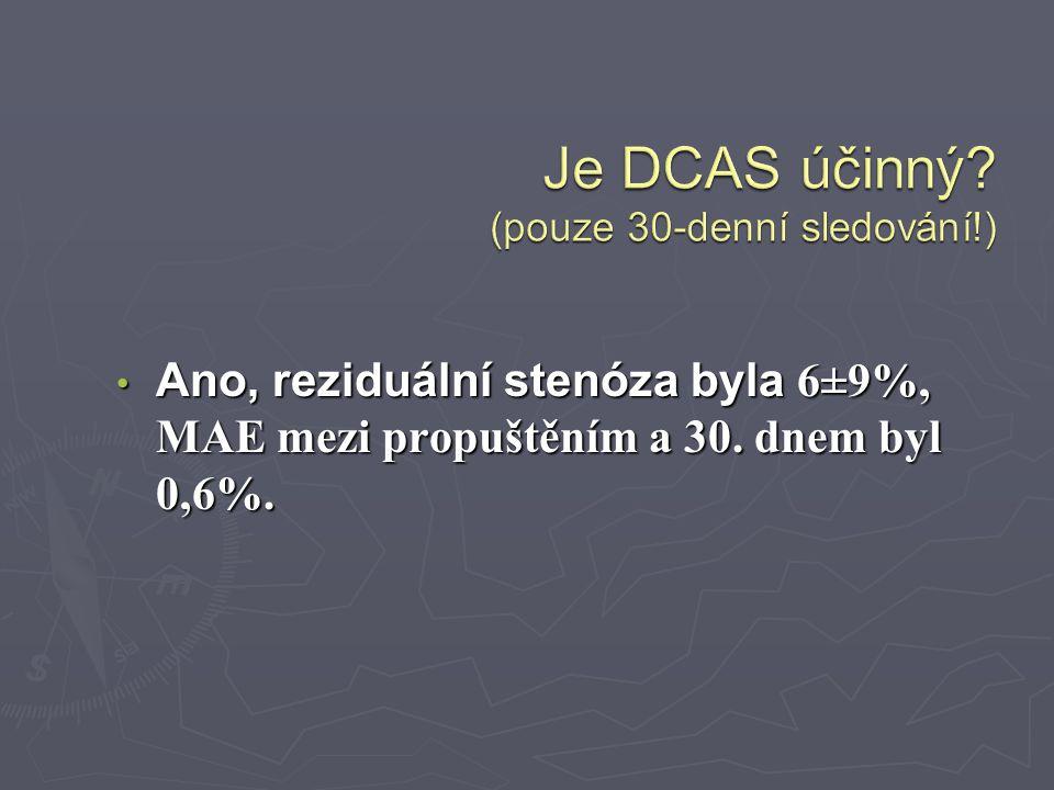 Je DCAS účinný (pouze 30-denní sledování!)