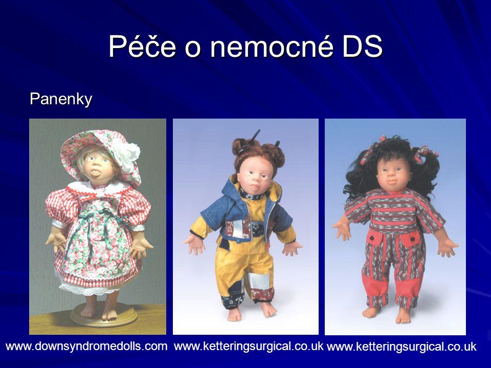 Péče o nemocné DS Panenky www.downsyndromedolls.com
