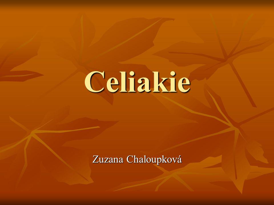 Celiakie Zuzana Chaloupková