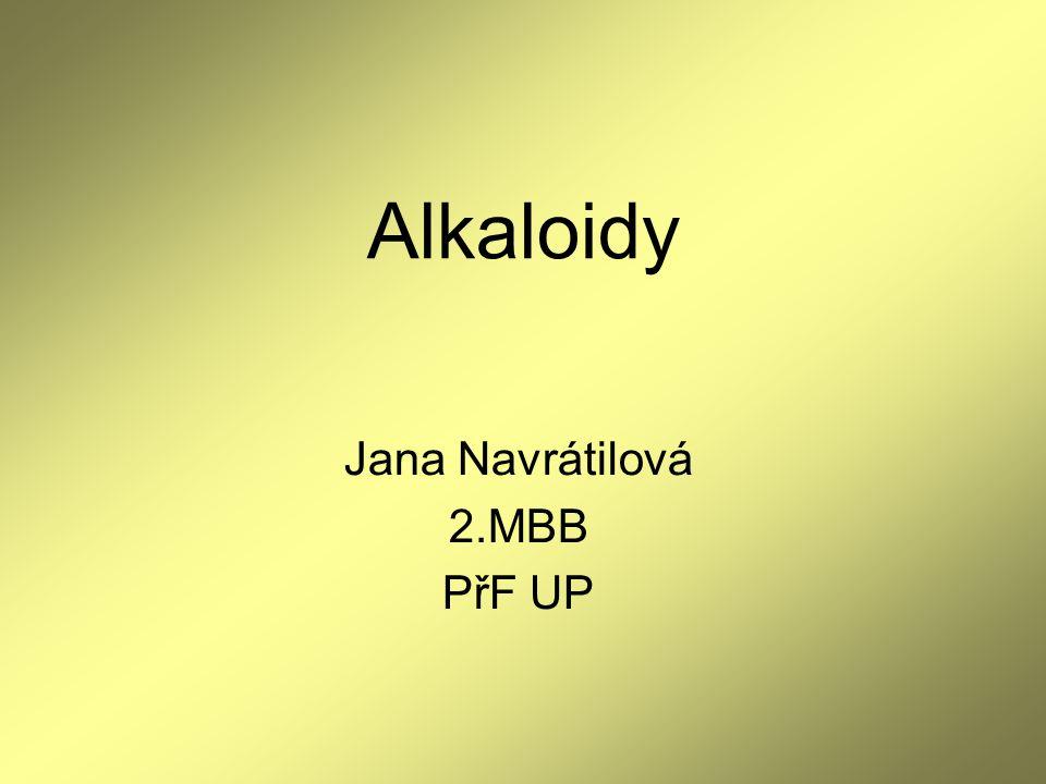 Jana Navrátilová 2.MBB PřF UP