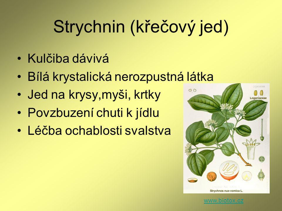 Strychnin (křečový jed)
