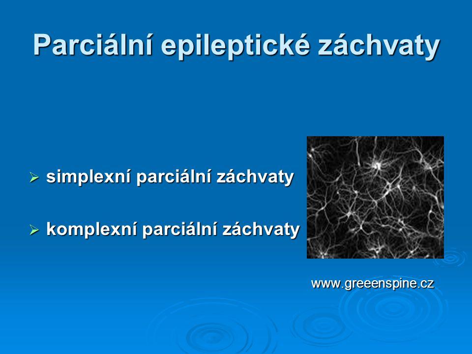 Parciální epileptické záchvaty