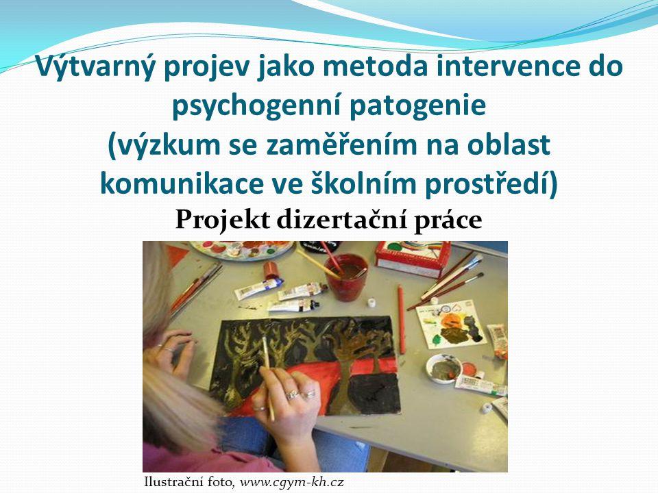 Projekt dizertační práce