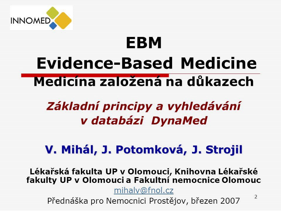 EBM Evidence-Based Medicine