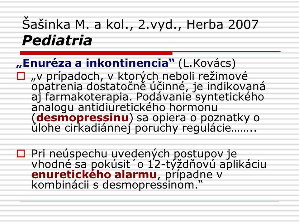 Šašinka M. a kol., 2.vyd., Herba 2007 Pediatria