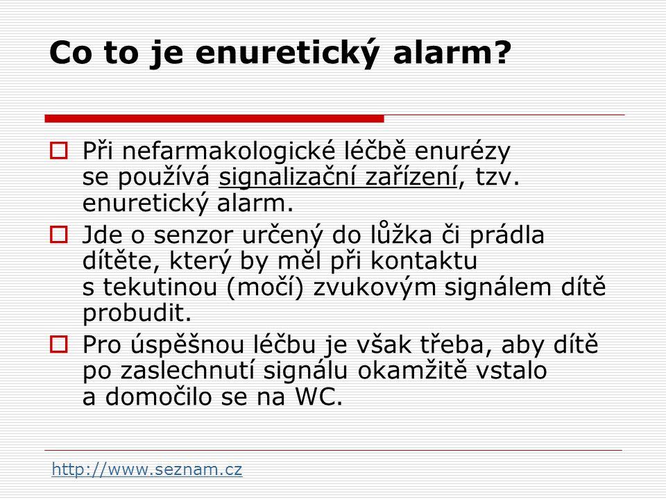 Co to je enuretický alarm