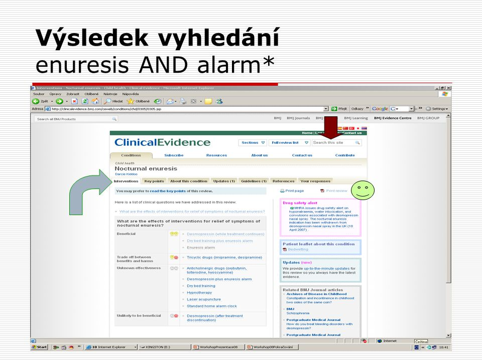 Výsledek vyhledání enuresis AND alarm*