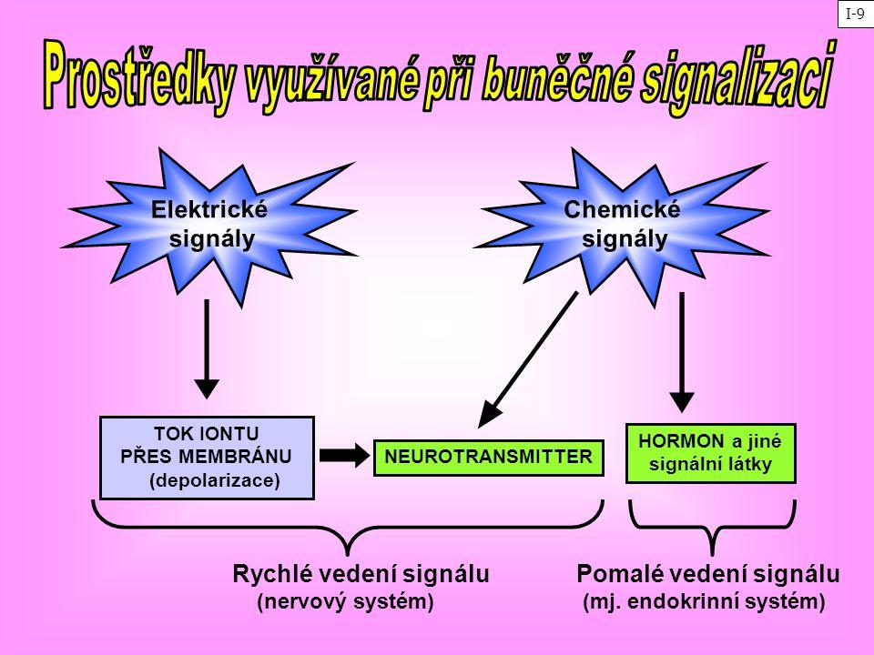Prostředky využívané při buněčné signalizaci