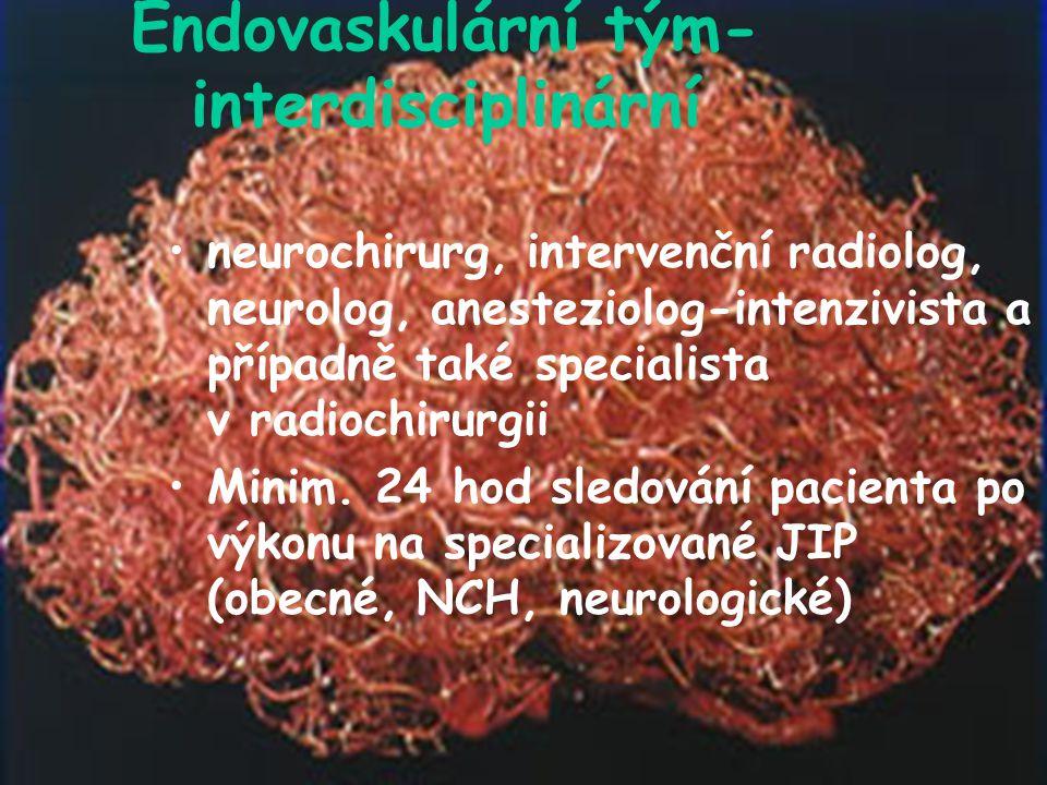Endovaskulární tým- interdisciplinární