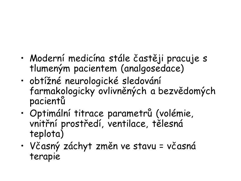 Moderní medicína stále častěji pracuje s tlumeným pacientem (analgosedace)