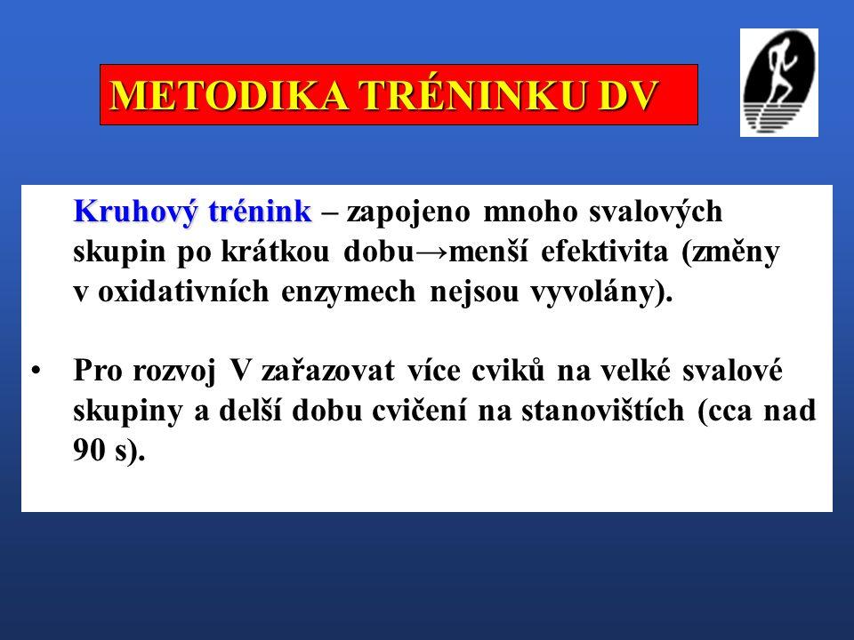 METODIKA TRÉNINKU DV