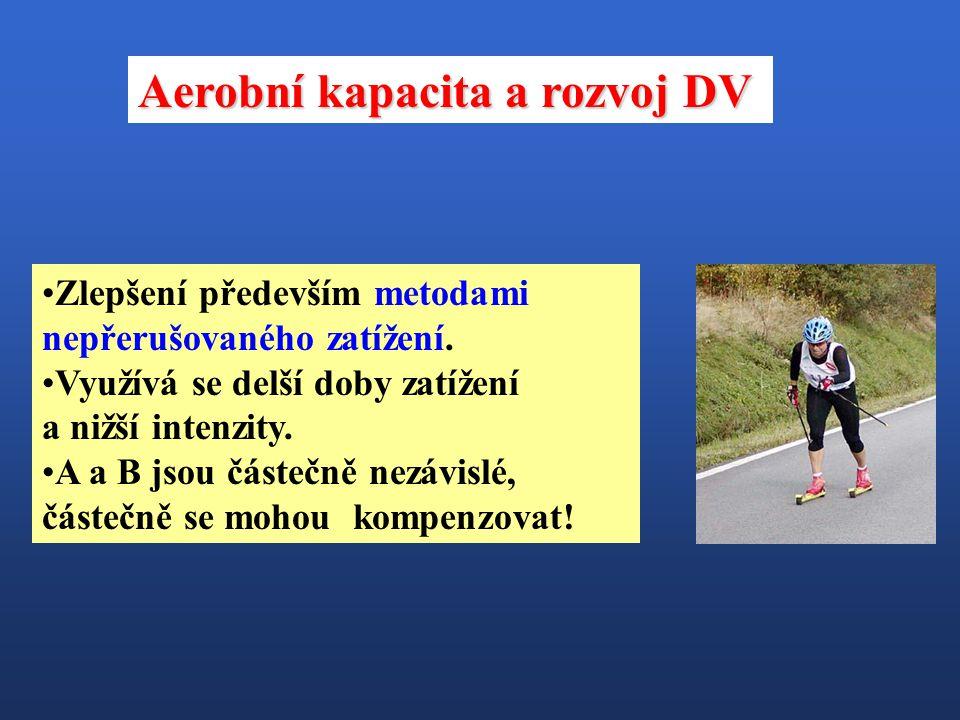 Aerobní kapacita a rozvoj DV