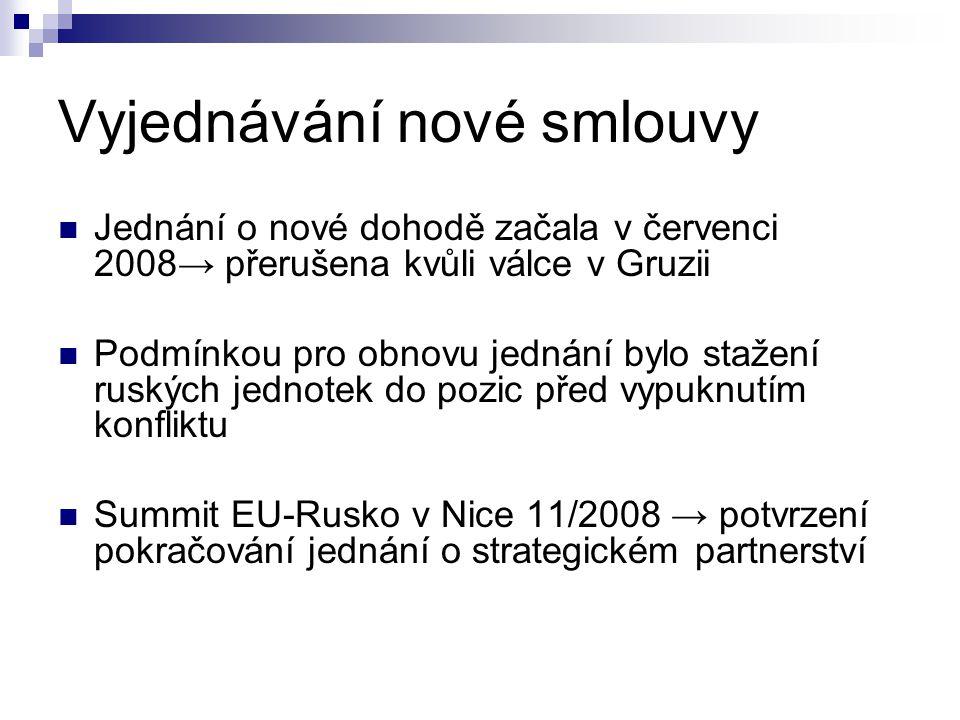 Vyjednávání nové smlouvy