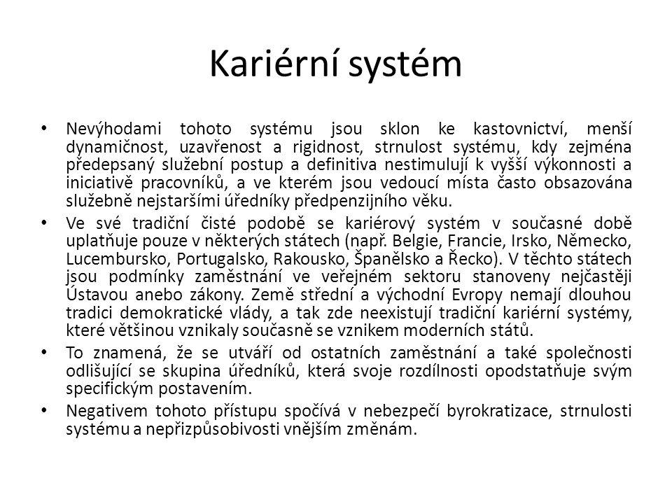 Kariérní systém