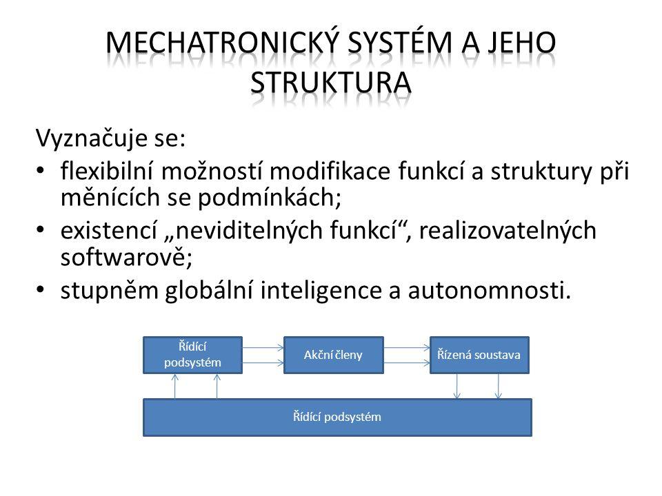 Mechatronický systém a jeho struktura