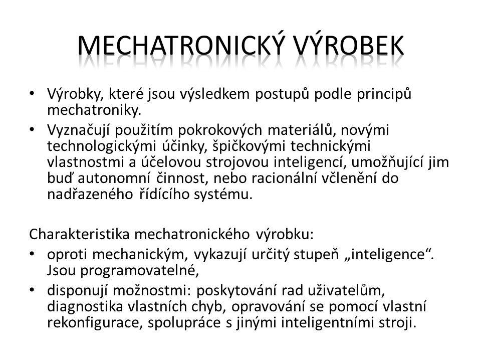 Mechatronický výrobek