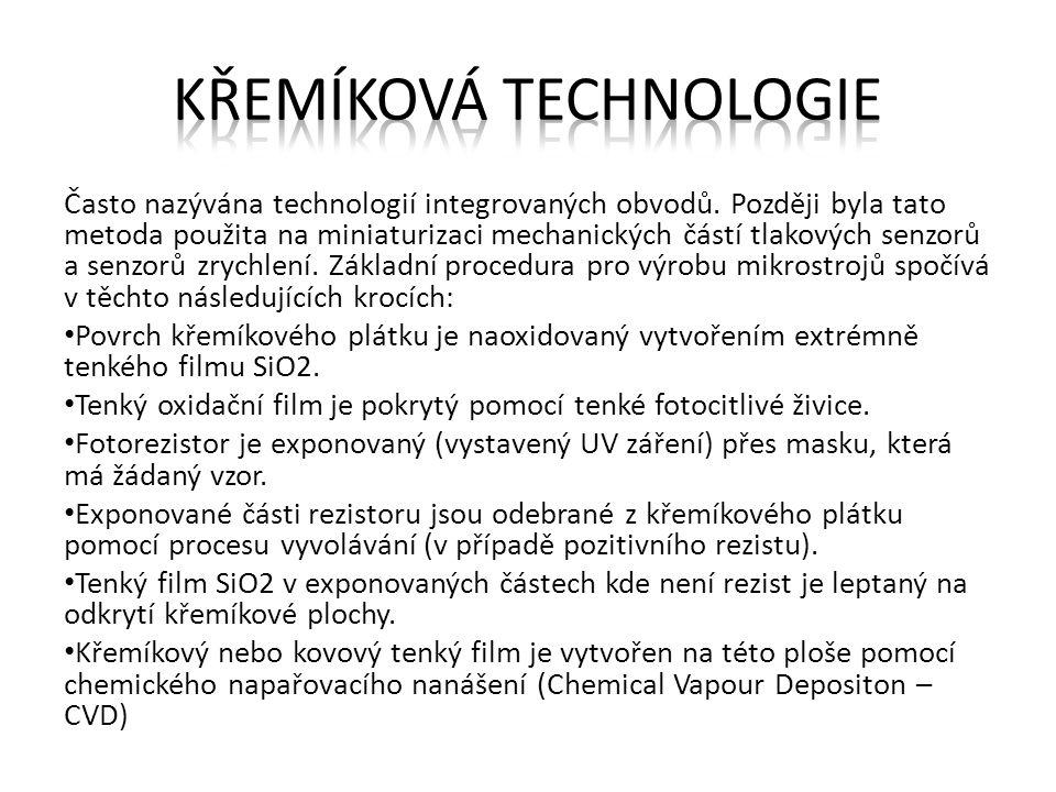 Křemíková technologie