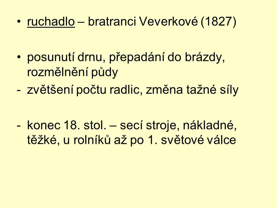 ruchadlo – bratranci Veverkové (1827)