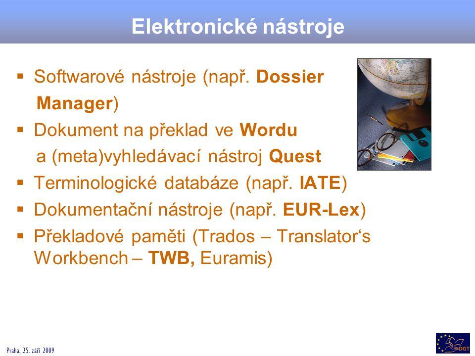 Elektronické nástroje
