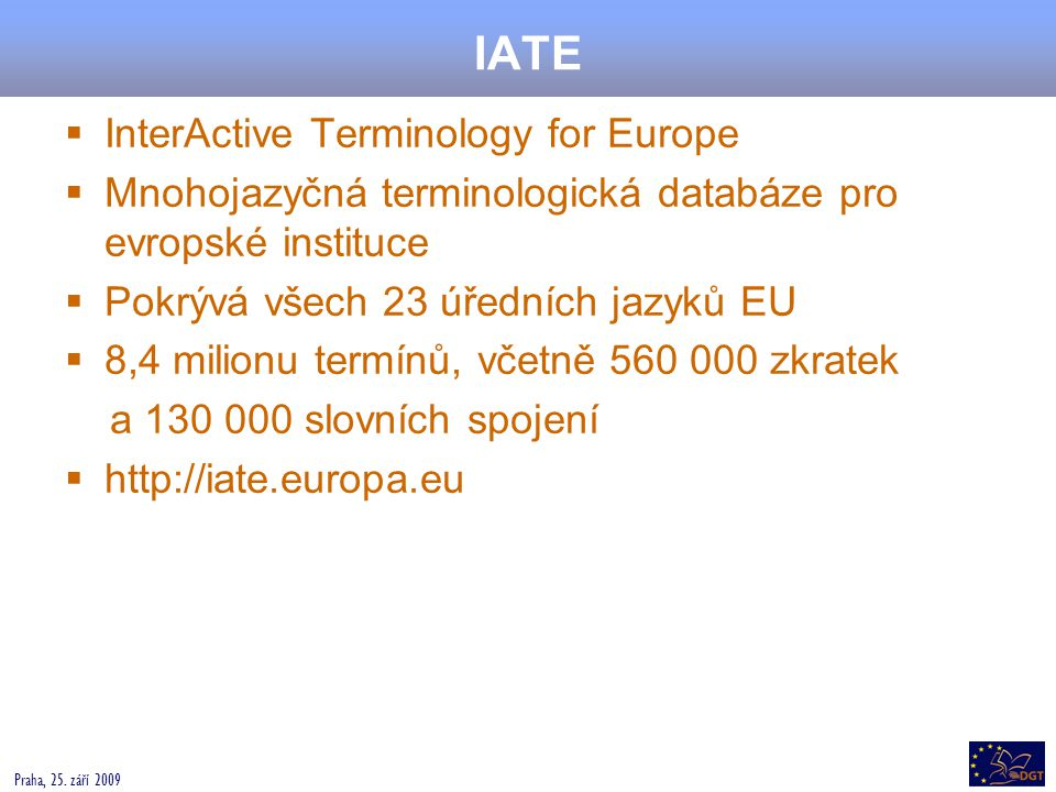 IATE InterActive Terminology for Europe