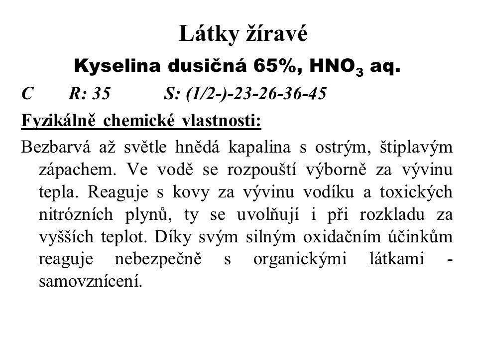 Kyselina dusičná 65%, HNO3 aq.