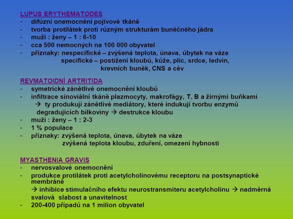 difúzní onemocnění pojivové tkáně