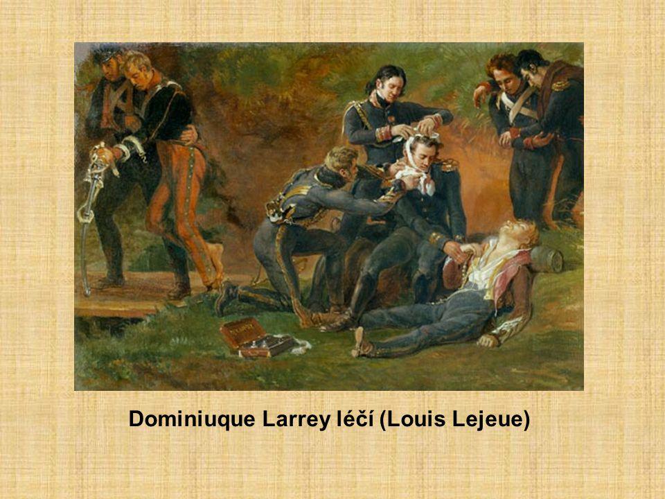 Dominiuque Larrey léčí (Louis Lejeue)