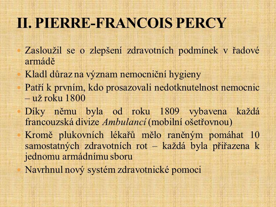II. PIERRE-FRANCOIS PERCY