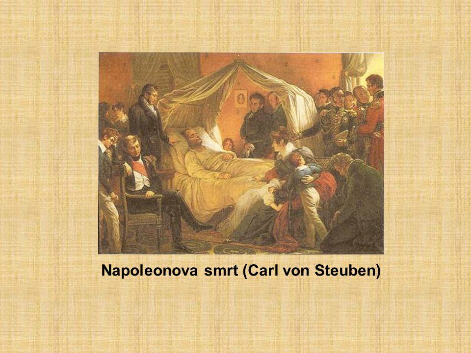 Napoleonova smrt (Carl von Steuben)