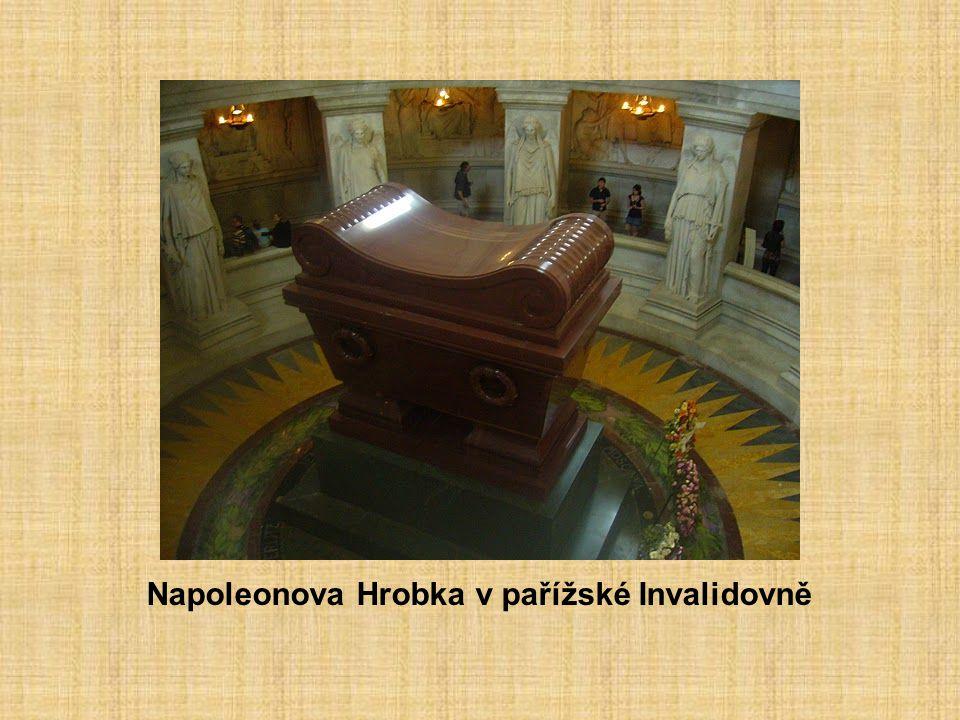 Napoleonova Hrobka v pařížské Invalidovně