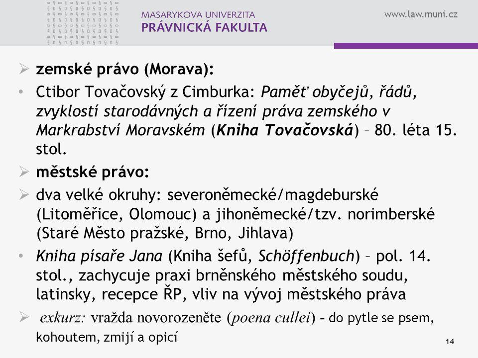 zemské právo (Morava):