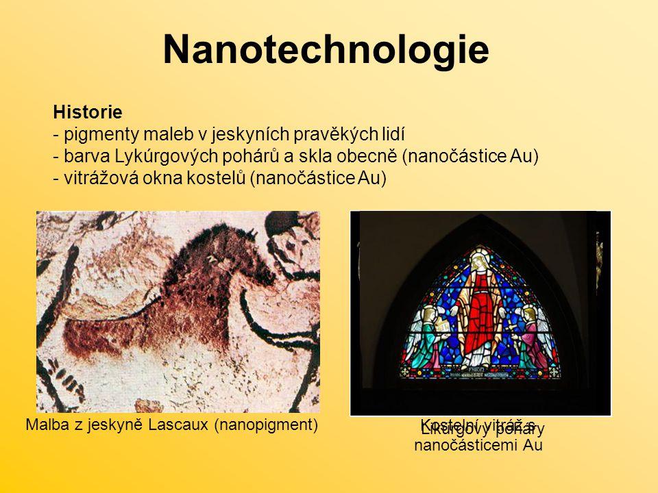 Kostelní vitráž s nanočásticemi Au
