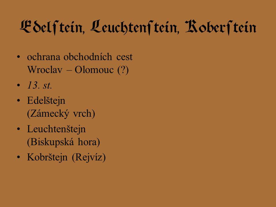 Edelstein, Leuchtenstein, Koberstein