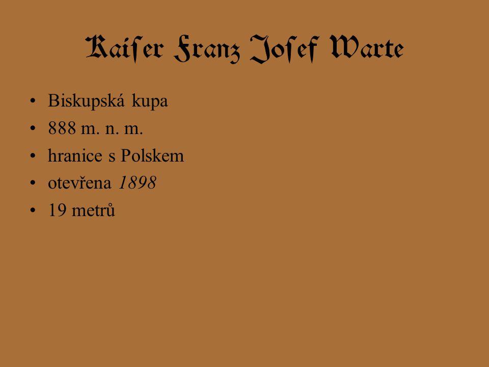 Kaiser Franz Josef Warte