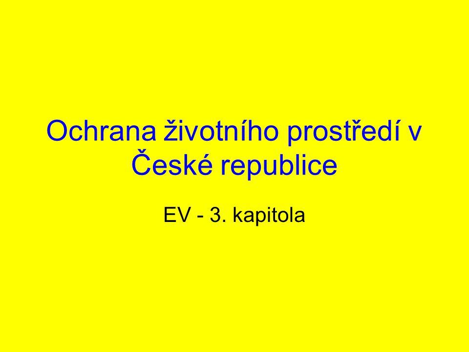 Ochrana životního prostředí v České republice