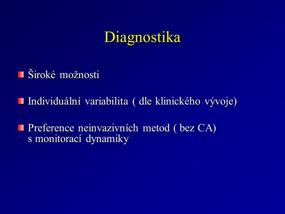 Diagnostika Široké možnosti