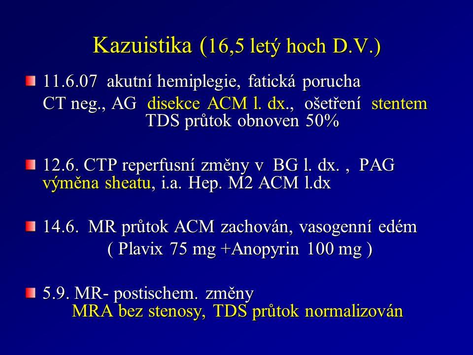 Kazuistika (16,5 letý hoch D.V.)