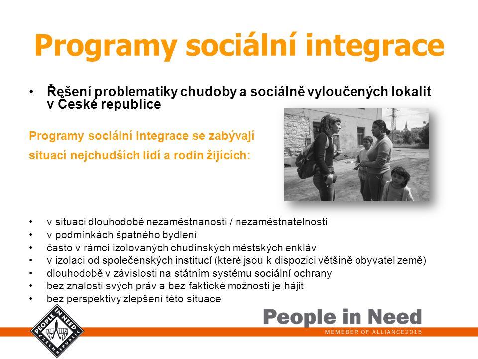 Programy sociální integrace