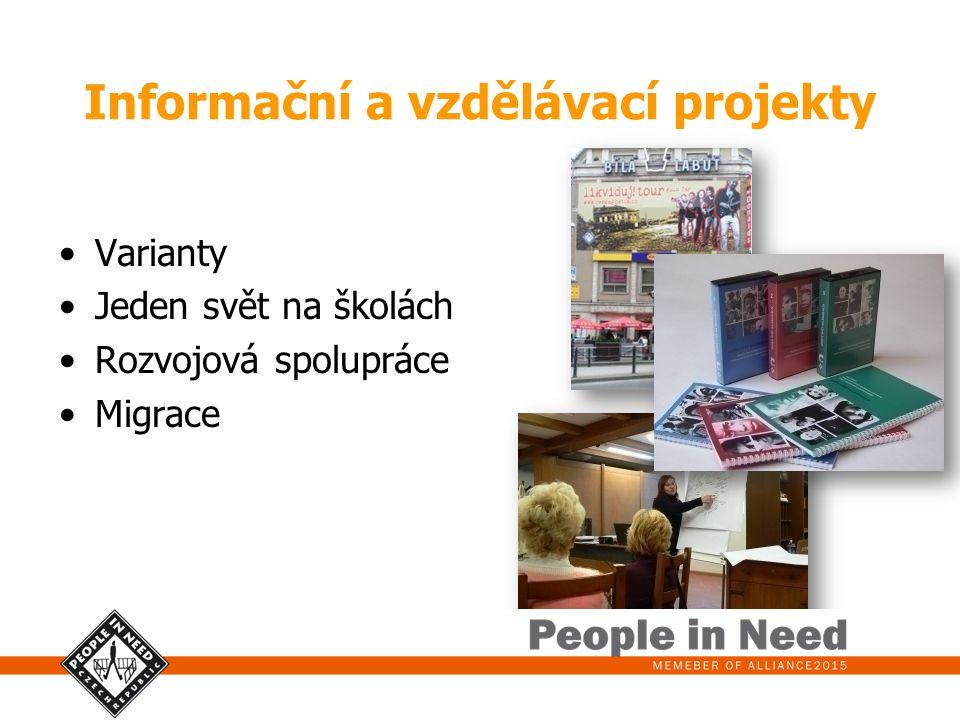 Informační a vzdělávací projekty