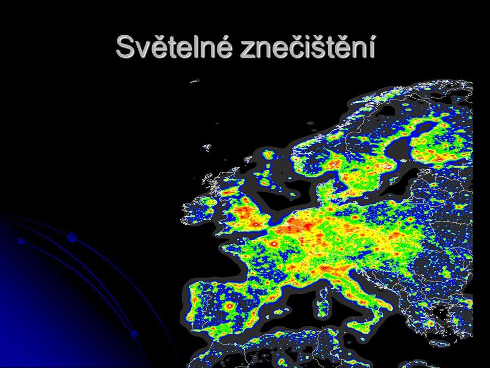 Světelné znečištění