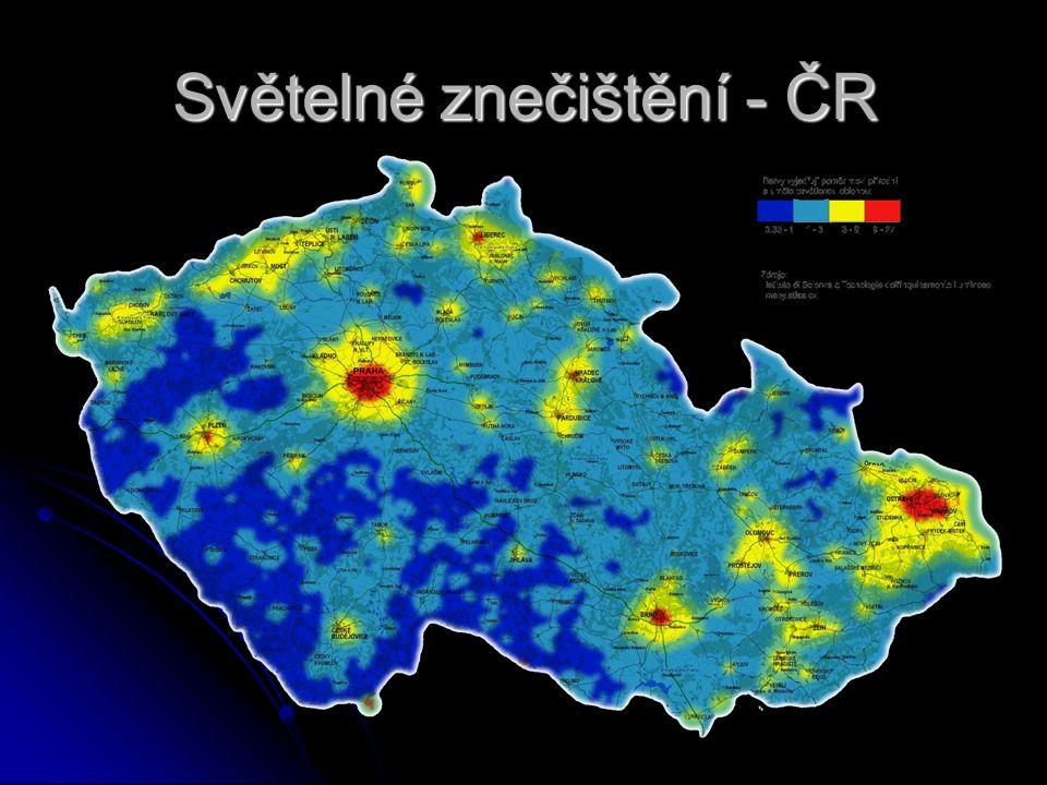 Světelné znečištění - ČR