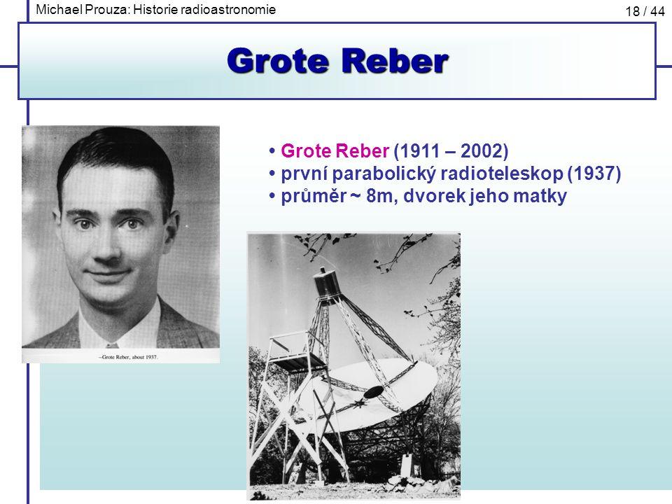Grote Reber • Grote Reber (1911 – 2002)