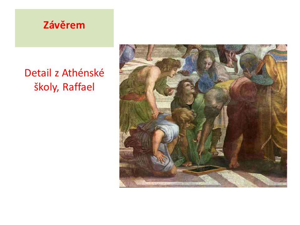 Detail z Athénské školy, Raffael