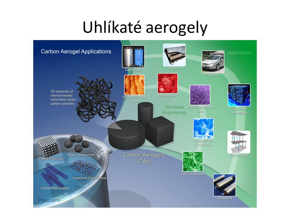 Uhlíkaté aerogely