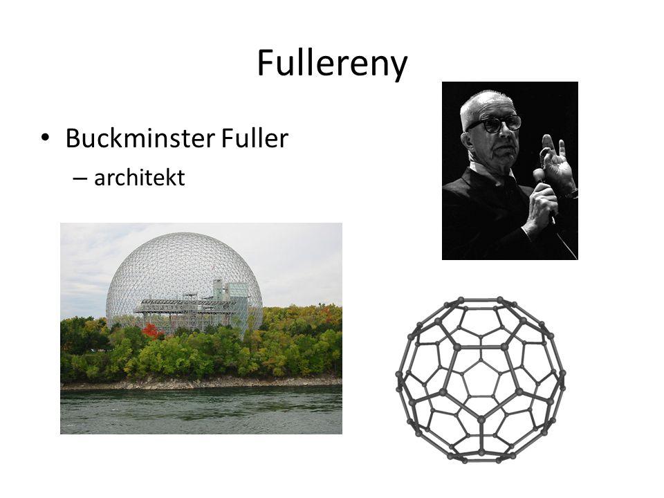 Fullereny Buckminster Fuller architekt