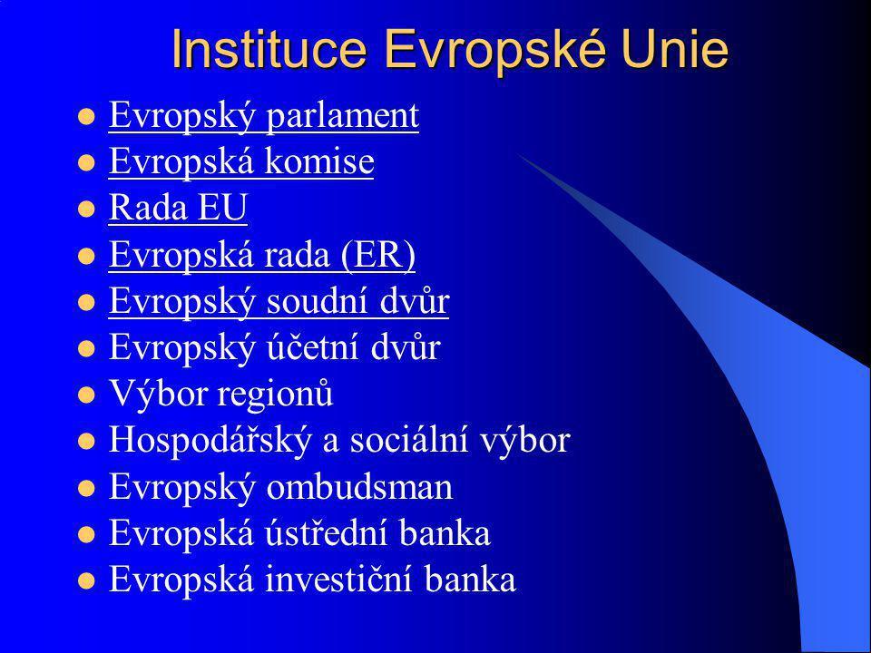 Instituce Evropské Unie