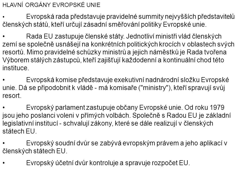 • Evropský účetní dvůr kontroluje a spravuje rozpočet EU.