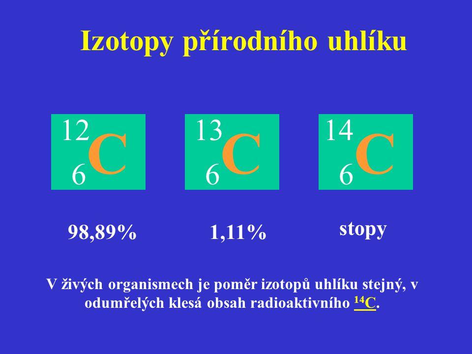 Izotopy přírodního uhlíku