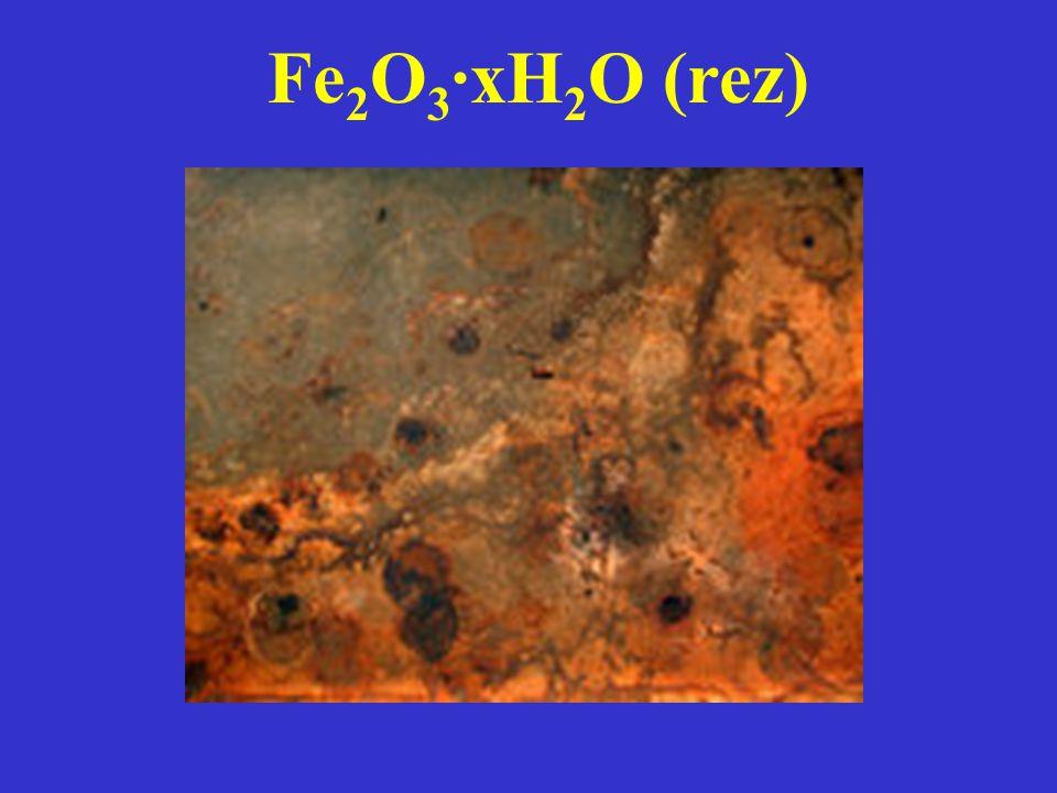 Fe2O3·xH2O (rez)